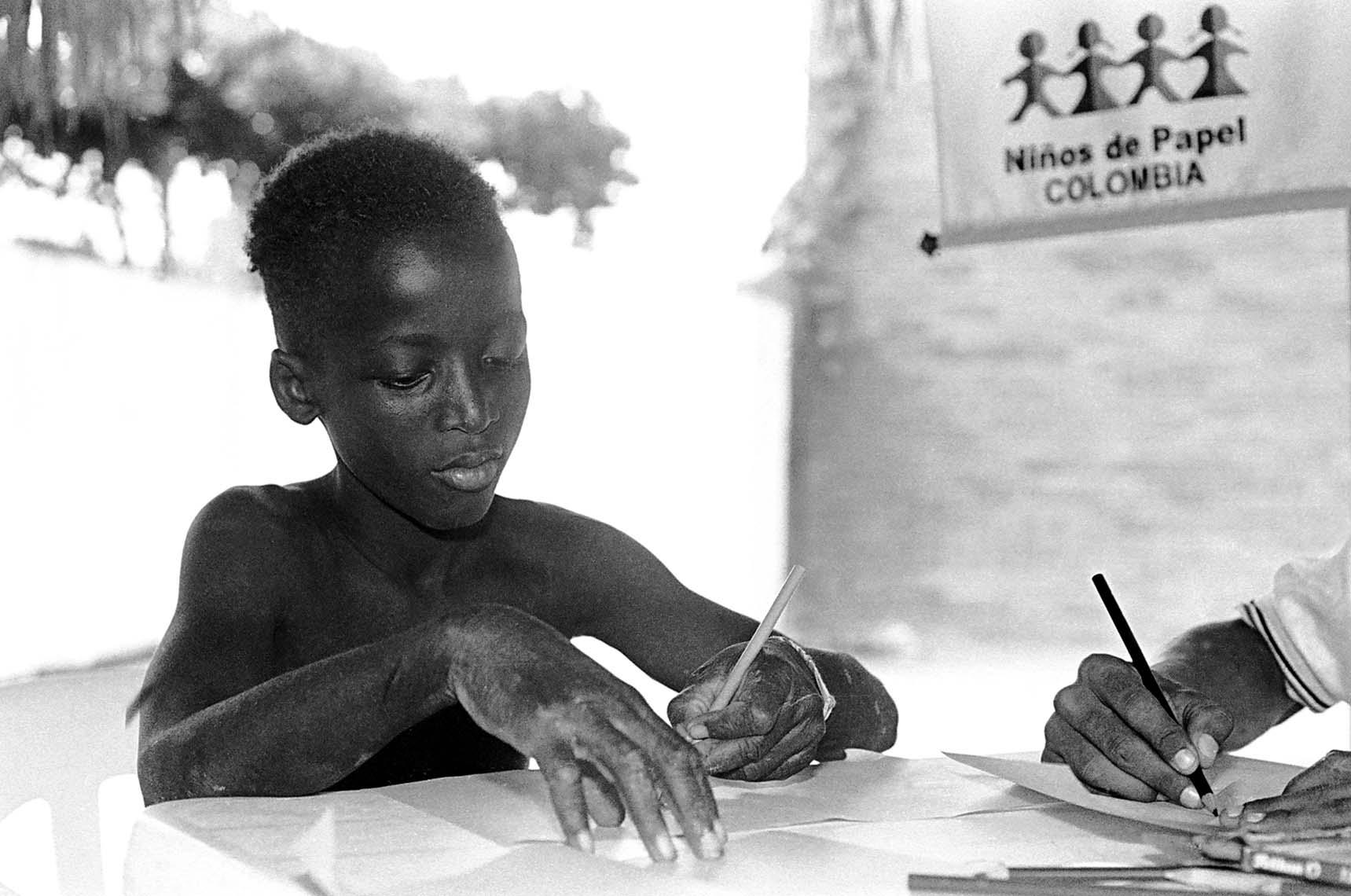 Niño de la calle Cartagena de Indias (Colombia)