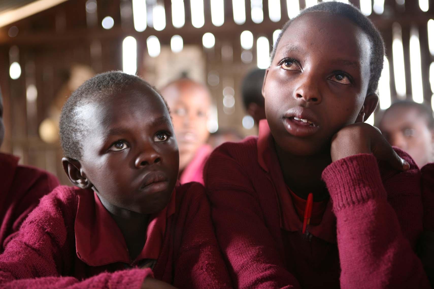 Niñas Masai (Tanzania)