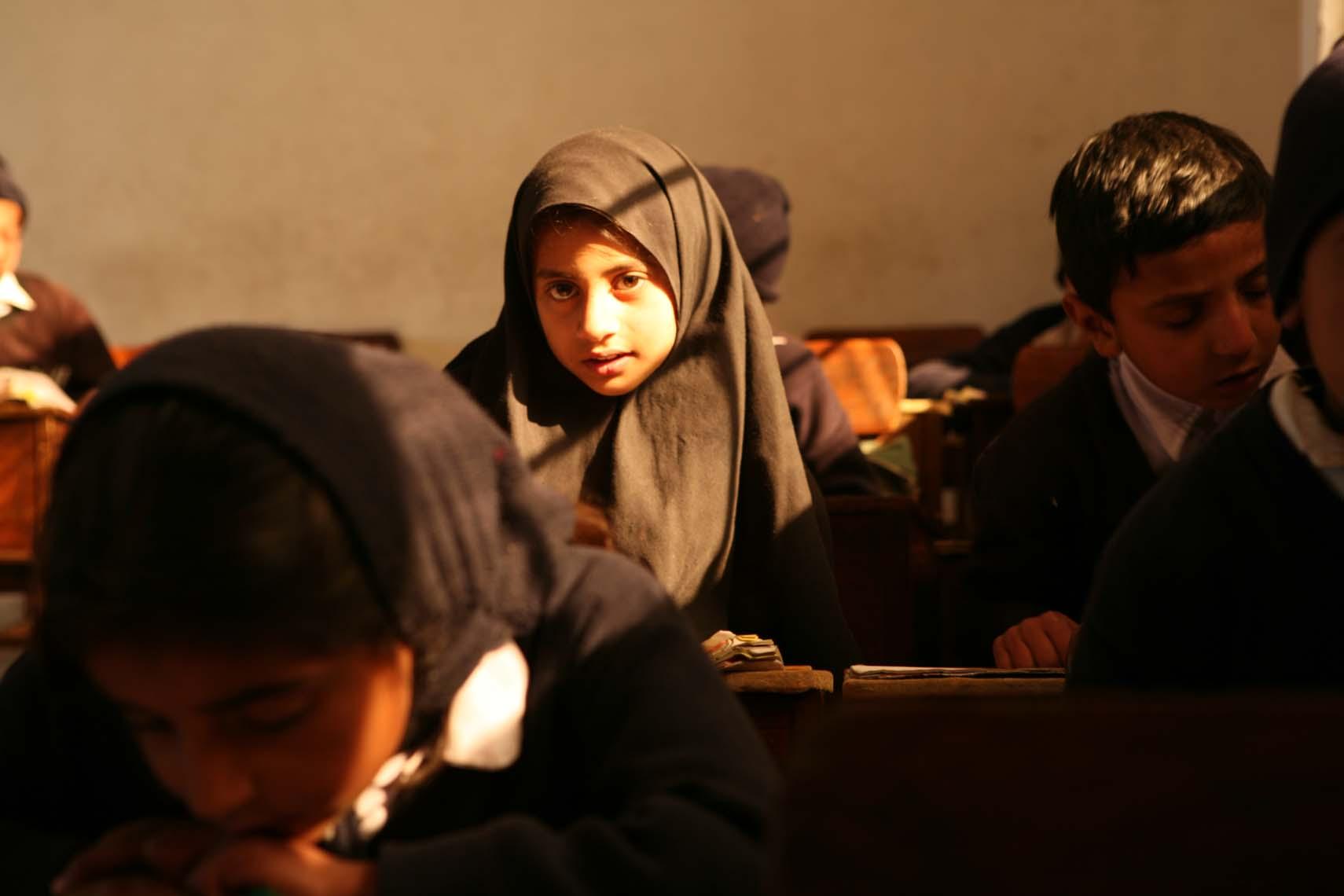 Escuela pública en Lahore (Pakistán)